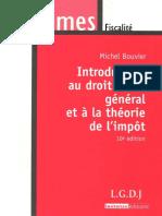 Introduction Au Droit Fiscal Général Et à La Théorie de l'Impôt ( PDFDrive.com )
