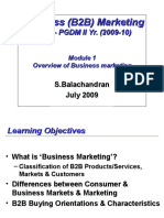 B2B Marketing - Summary
