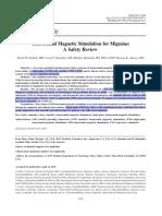 Estimulacion magnetica transcraneal dodick2010