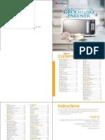 DW 380 C Recipe Book