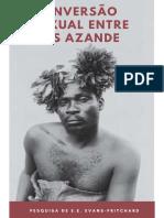 A INVERSÃO DE SEXO ENTRE OS AZANDE 2019