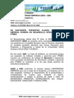 GBS Boletin de Prensa - Enero de 2010 - GBS Anuncia Alianza Universidad Empresa Con UDES Para PYMES