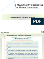 Chapter 3 Movement Of Substances Across The Plasma Membrane.ppt