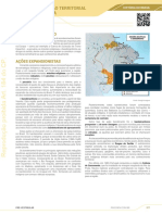 A expansão territorial brasileira