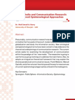 New Media and Communication Research
