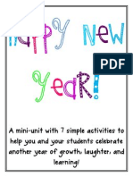 Happy New Year Mini-unit
