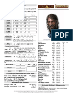 Arnulf Fierépée D&D 3.5 NPC