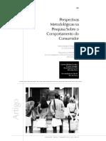 Perspectivas metodológicas na pesquisa sobre o comportamento do consumidor