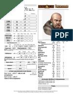 Borrik D&D 3.5 NPC