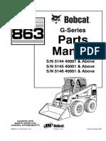 Bobcat 863 Parts Manual (Completo).pdf