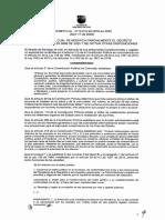 Decreto 0818 ampliacion temporal pico y placa