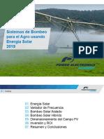 Siagro Piura 2019 - Bombeo en el Agro usando energia solar.pdf