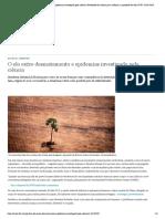 O elo entre desmatamento e epidemias investigado pela ciência _ Novidades da ciência para melhorar a qualidade de vida _ DW _ 15.04.2020