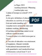 PPSC Headmistress Past Paper 2nd Time-2015.pdf