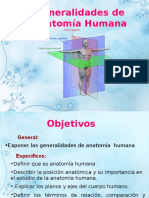 Anatomía Humana - 1 Generalidades - plano