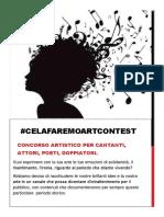 REGOLAMENTO CELAFAREMOARTCONTEST