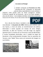 Os sismos em Portugal.docx