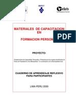 Cuaderno de Aprendizaje Reflexivo para Participantes