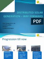 Distributed Solar - Way forward_Arvind_11Sep