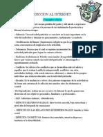 ADICCION AL INTERNET  conceptos1