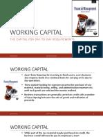 FM-18-19 Working Capital