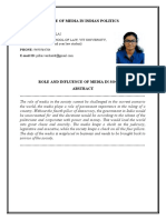 role amd influence of media in society.docx