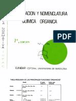 Formulacion y Nomenclatura Quimica Organica - Peterson