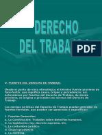FUENTES Y PRINCIPIOS  DEL DERECHO DEL TRABAJO