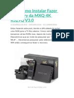 Dica Como Instalar Fazer Recovery da MXQ 4K R329Q V3.docx