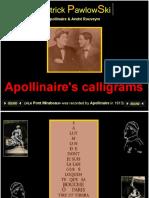 apollinaire -calligrammes