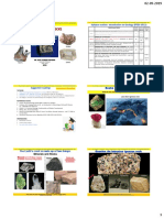 Lecture slides Minerals properties and classification(1)