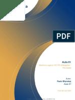 Aula 01 - Conceitos Importâncias e Divisões Da Medicina Legal Corpo de Delito, Perícia e Peritos Em Medicina Legal.