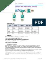 LAB 03 - Configuring Inter VLAN Trunking