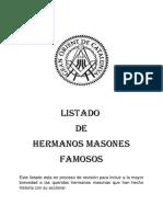 Masones Destacados