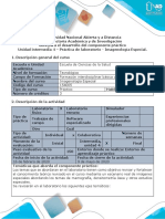 Guía para el desarrollo del componente práctico.