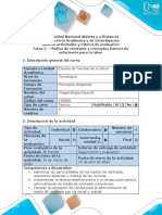 Guía de actividades y rúbrica de evaluación - Tarea 3 - M.C, conceptos básicos de enfermería para la labor