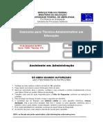 ConcursoTA132_2013_Prova_Assistente_Administracao.pdf