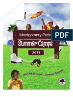 Montgomery Parks Summer Camps 2011