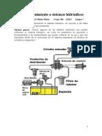 Mantenimiento a sistemas hidráulicos