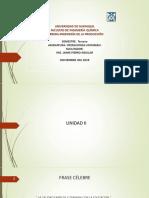 PRESENTACION MOLIENDA -  II práctica.  2019-2020 CII