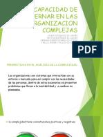 LA CAPACIDAD DE GOBERNAR EN ORGANIZACIONES COMPLEJAS