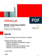 Mysql Technology Update Dec 2010