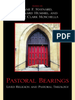 Jane F. Maynard, Leonard Hummel, Mary Clark Moschella - Pastoral Bearings_ Lived Religion and Pastoral Theology-Lexington Books (2010).pdf