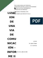 ACTIVIDAD Nº2 LOCALIZACIÓN DE UNA VIA. INFORME II.docx