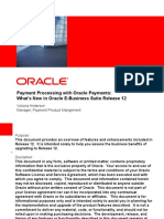 Oracle Payments New Features