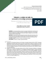 Reflexión y Análisis Del Delito de Concusión en El Código Penal Peruano