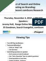 SEO+Ppc Webinar Nov10