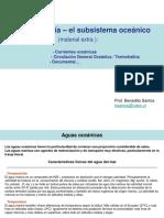3 Semana - El subsistema oceánico
