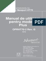 Newport_HT70Plus_OperatorsManual_ROMANA