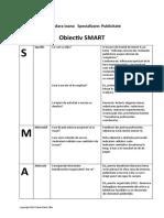 Obiectiv SMART- Realizarea lucrării de licență